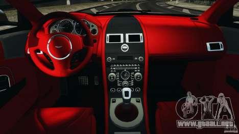 Aston Martin DBS Volante [Final] para GTA 4 vista hacia atrás