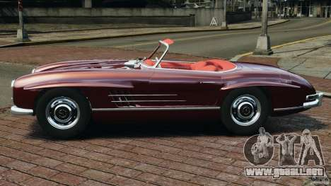 Mercedes-Benz 300 SL Roadster v1.0 para GTA 4 left