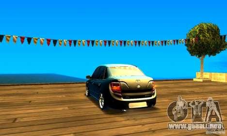 Lada Granta v2.0 para GTA San Andreas vista posterior izquierda
