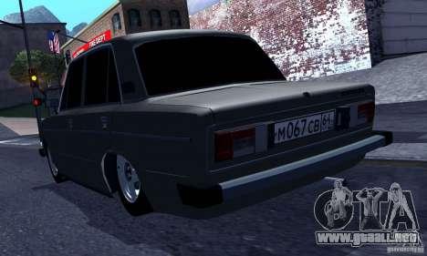 Hobo 2106 VAZ para la visión correcta GTA San Andreas