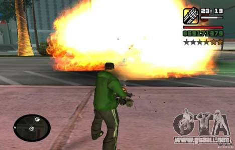 New Effects [HQ] para GTA San Andreas segunda pantalla