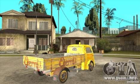 Tempo Matador 1952 Bus Barn version 1.1 para la visión correcta GTA San Andreas