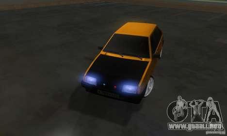 VAZ 2109 luz Tuning para visión interna GTA San Andreas