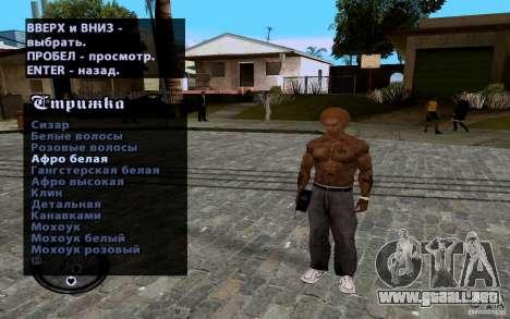 Nuevo CJ para GTA San Andreas