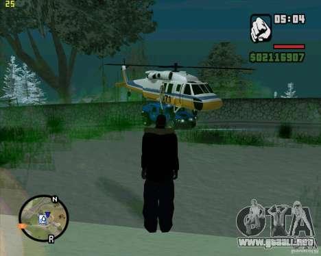 U.S.M.C. Desant para GTA San Andreas segunda pantalla