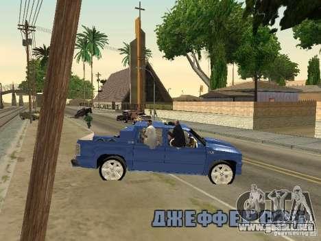 Ballas 4 Life para GTA San Andreas séptima pantalla