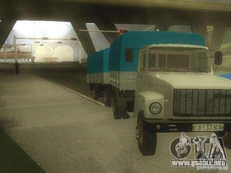 GAZ 3307 para GTA San Andreas left