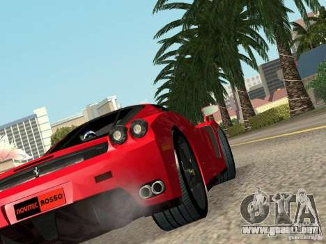Ferrari Enzo Novitec V1 para GTA San Andreas left