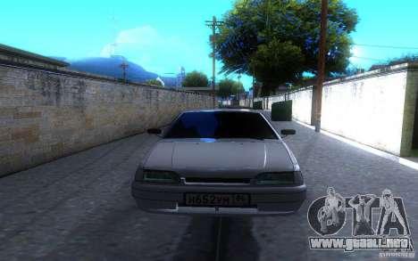 ВАЗ 2114 LT para GTA San Andreas vista hacia atrás
