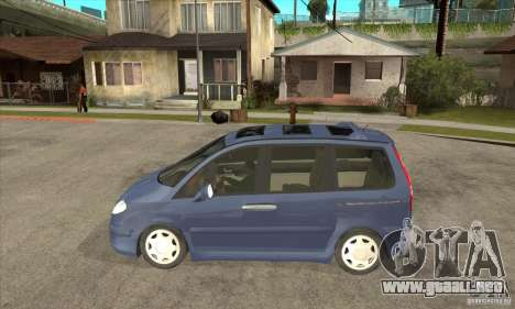 Citroen C8 para GTA San Andreas left