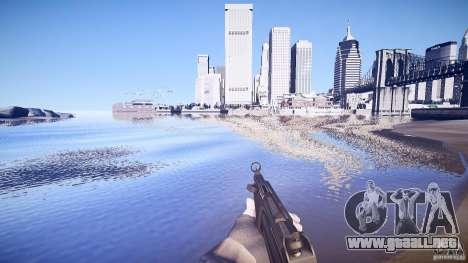 MP-5 para GTA 4 segundos de pantalla