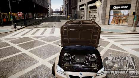 BMW M6 2013 para GTA 4 vista interior
