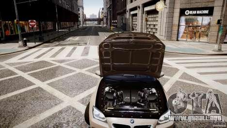 BMW M6 2013 para GTA 4 vista interior