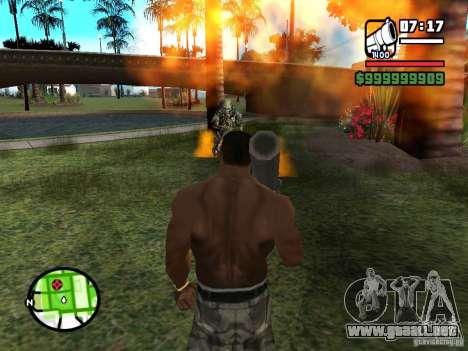 Predator para GTA San Andreas tercera pantalla