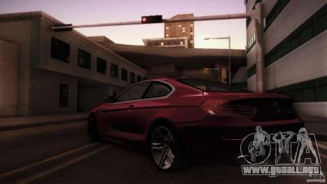BMW 640i Coupe para GTA San Andreas left