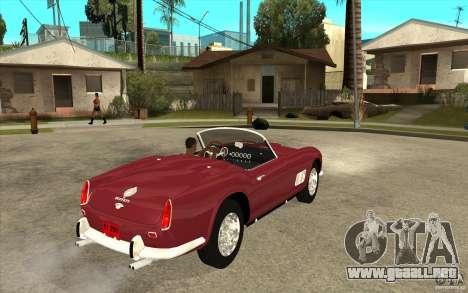 Ferrari 250 California 1957 para la visión correcta GTA San Andreas