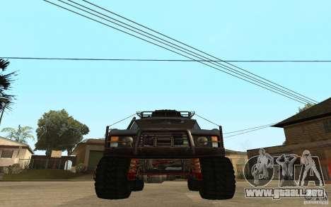 Range Rover Off Road para GTA San Andreas vista posterior izquierda