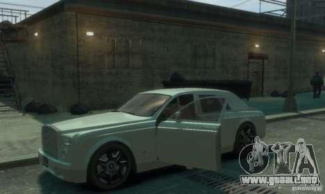 Rolls-Royce Phantom para GTA 4 vista superior