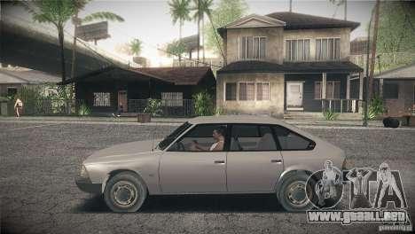 Moskvich 2141 Svyatogor para GTA San Andreas left