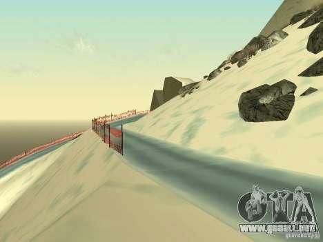 Invierno para GTA San Andreas quinta pantalla