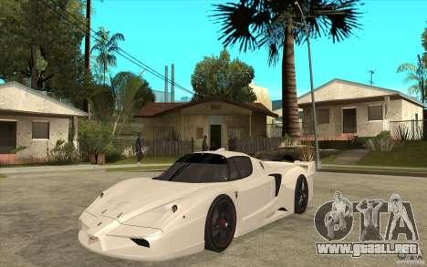 Ferrari FXX 2005 para GTA San Andreas left