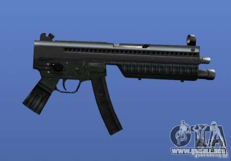 Heckler & Koch MP5 para GTA 4 adelante de pantalla