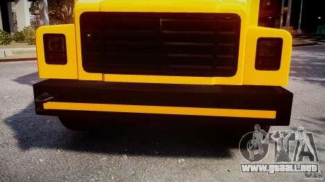School Bus [Beta] para GTA 4 vista superior