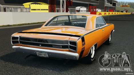 Dodge Dart GTS 1969 para GTA 4 Vista posterior izquierda