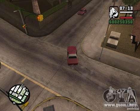 Cámara como en GTA Chinatown Wars para GTA San Andreas séptima pantalla
