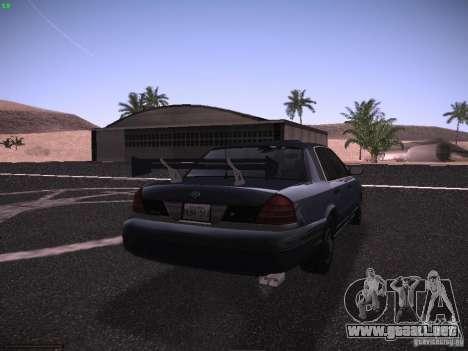 Ford Crown Victoria 2003 para la vista superior GTA San Andreas