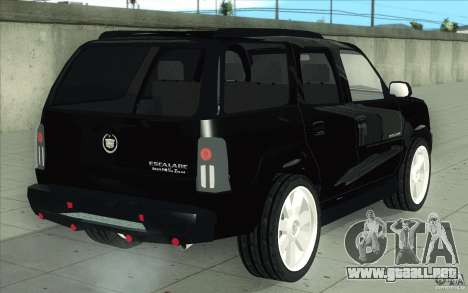 Cadillac Escalade 2004 para vista inferior GTA San Andreas