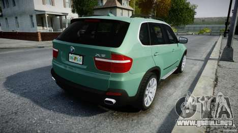 BMW X5 Experience Version 2009 Wheels 223M para GTA 4 vista superior