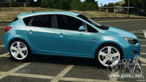 Opel Astra 2010 v2.0 para GTA 4 left