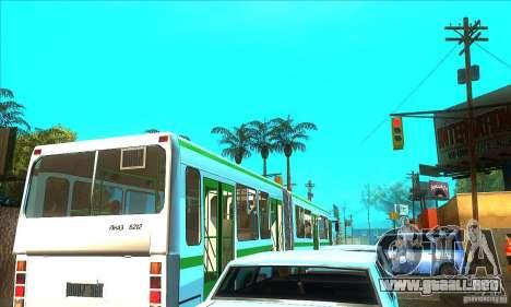 Trailer de Liaz 6212 para GTA San Andreas left