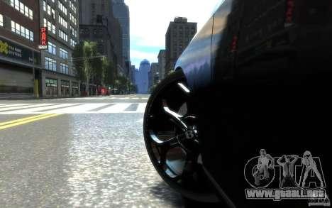 Bentley Continental SS MansorY para GTA 4 vista superior