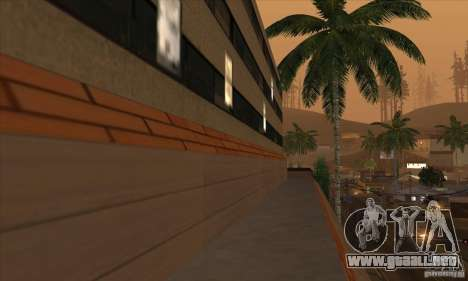 El nuevo hospital en HP para GTA San Andreas quinta pantalla