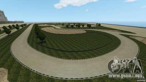 Dakota Raceway [HD] Retexture para GTA 4 octavo de pantalla