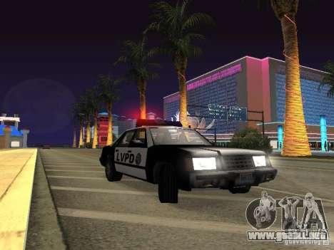 LVPD Police Car para visión interna GTA San Andreas