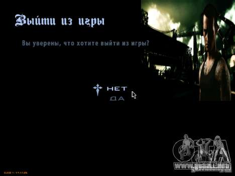 Menús y pantallas de carga NFS Most Wanted para GTA San Andreas segunda pantalla