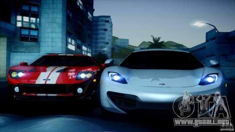 Direct B 2012 v1.1 para GTA San Andreas sucesivamente de pantalla
