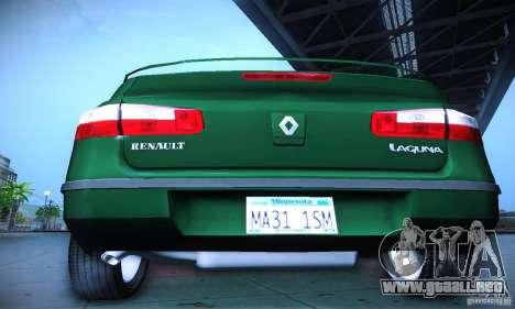Renault Laguna 2 para visión interna GTA San Andreas