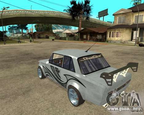 VAZ 2101 coches tuning para GTA San Andreas left