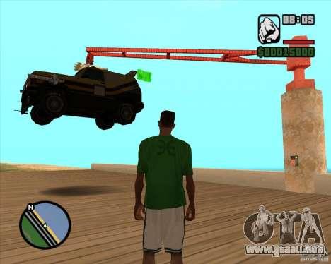 Máquina de auto-muerte muerte para GTA San Andreas segunda pantalla