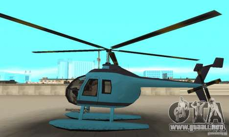 Nuevo Seaspar para GTA San Andreas left