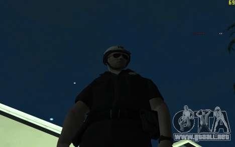 Nuevo DPSnik para GTA San Andreas segunda pantalla