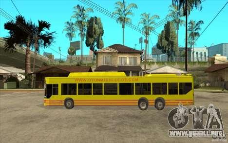 Mercedes Benz Citaro L para GTA San Andreas left