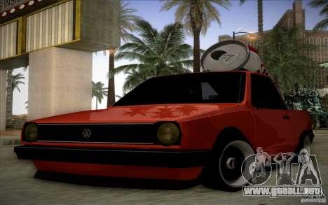 Volkswagen Polo Pickup para GTA San Andreas