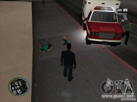 GTA IV LIGHTS para GTA San Andreas quinta pantalla