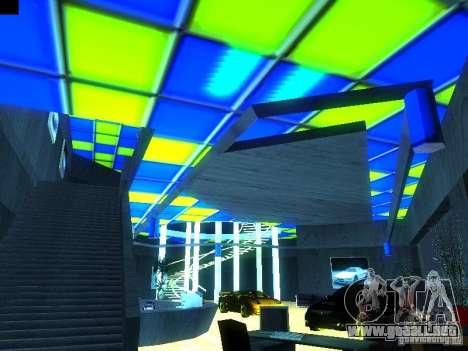 Nuevo showroom en San Fiero para GTA San Andreas tercera pantalla