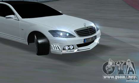 Mercedes-Benz S65 AMG Edition para la visión correcta GTA San Andreas
